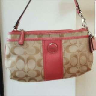 Authentic Coach Small Handbag