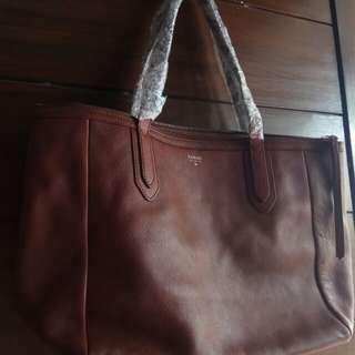 Fossil shoppers brown