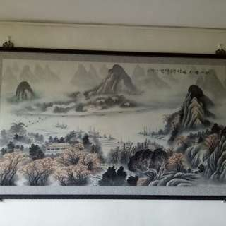 Chinese Scenery Painting from Beijing
