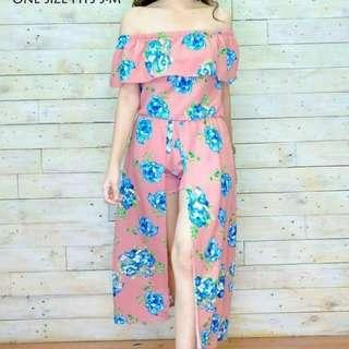 Floral Romper Trendy