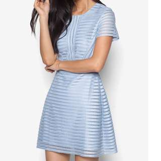 (S) Zalora Sky Blue Dress