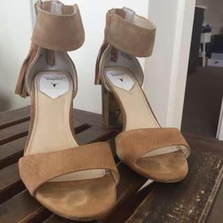 Windsor Smith Suede Heels, Worn Once