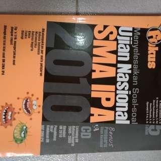 Buku Latihan Ujian Nasional SMA IPA 2010 (FOKUS)