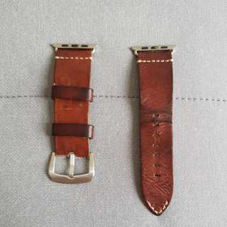 Full and authentic leather strap for Iwatch (42mm)