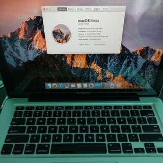 Macbook Pro 13-inch, Late 2011