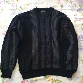 復古針織冷衫