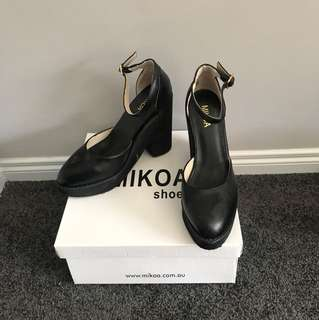 NEW WITH BOX Black Platform Shoes