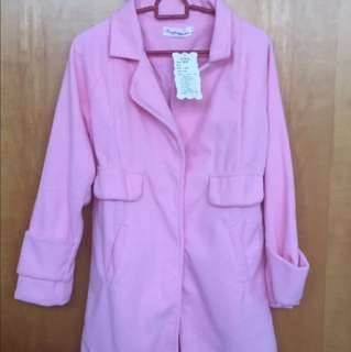 Pink winter jacket