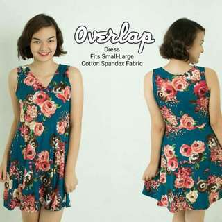 overlap dress (swipe)