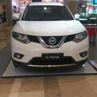 Nissan xtrail 2,5 cvt
