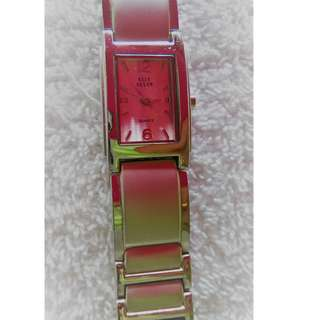 *Good Deal!* Woman's stainless steel strap watch (battery not included)