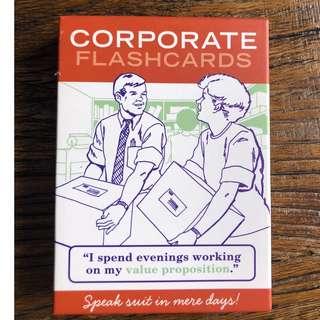 Corporate Flashards