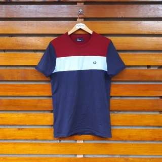 FRED PERRY COLOUR TSHIRT