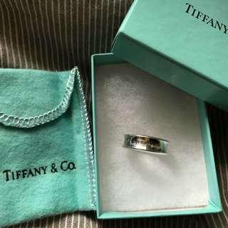 Tiffany & Co ring 有盒袋全套,二手90%新,購自sogo 尊門店