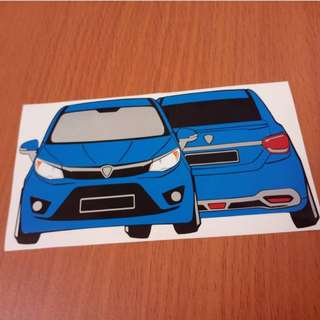 Car Custom Made Sticker