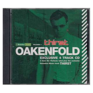Oakenfold: Exclusive 4 Track CD (Heineken Promo Copy) (Brand New)
