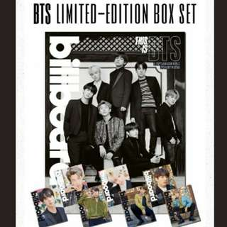 BTS Billiboard Limited Edition box set | Sharing loose set