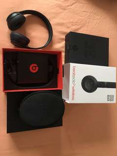 Authentic Black Beats Studio Wireless