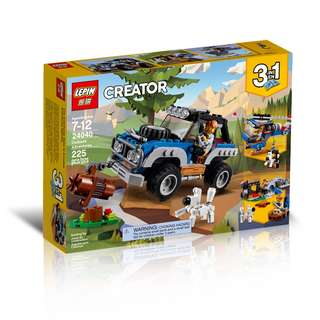 LEPIN 24040 3in1 Creator Outback Adventures