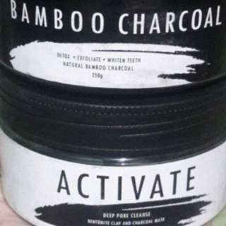 activate&bamboo charcoal mask