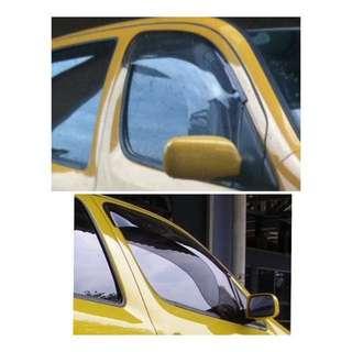 Rare! Sporty EGR Ultra Wide Window Visor for YRV