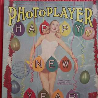Vintage photoplayer magazine
