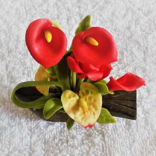 Mini unique bendable Japan Ikebana style flower display