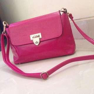Sling bag pink fanta