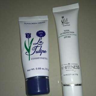 La tulipe sunscreen & bb cream