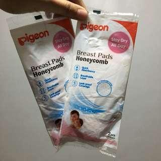 Pigeon breast pads