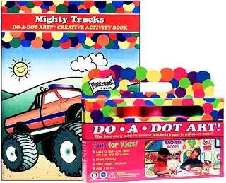 Dot A Dot Art ! + Creative Activity Book
