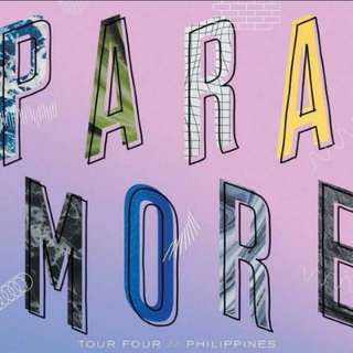 LOOKING FOR 2 paramore lower box ticket