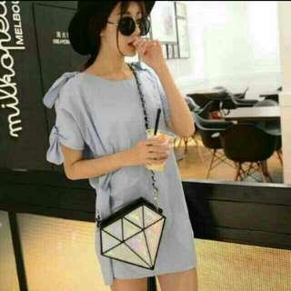 Diamond Cross Body Bag