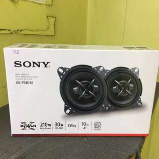 Sony/pioneer car speaker XS-FB103E