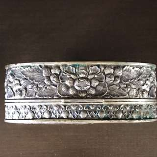 Jewellery Box solid silver hand made crafted