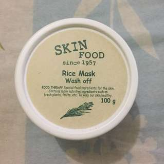Skin Food Rice Mask Wash Off