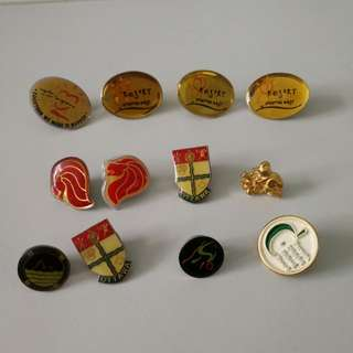 Random pin badges
