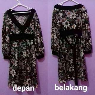Dress Flower Bunga