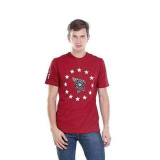 kaos t-shirt lengan pendek UNION STAR