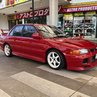 Mitsubishi Evolution 1 Thai Regn