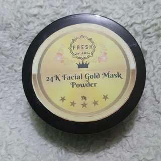 24k Gold Mask Powder