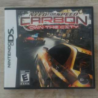 NDS Need for Speed Carbon