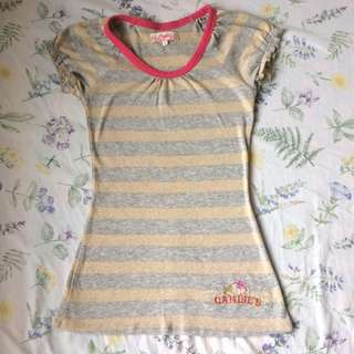 Candie's Stripes Blouse