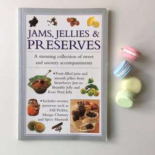 Recipe Book or Cookbook for Jam, Jellies and Preserves