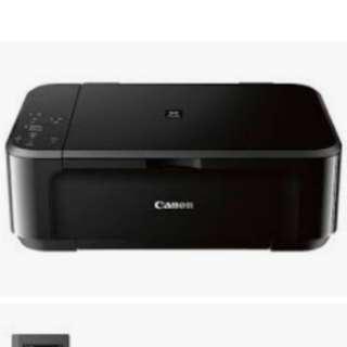 Canon Pixma MG3650 Wi-Fi All-in-One Colour Printer - Red