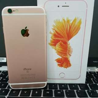 iphone 6s 64gb Rosegold Fullset