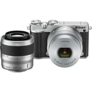 Kredit Dp 10% Nikon 1 J5 Double Lens 10-30mm + 30-110mm - Cicilan tanpa kartu kredit
