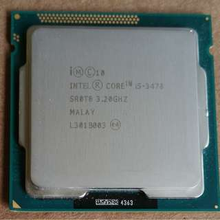 Intel Cores i5 3470 3.2ghz