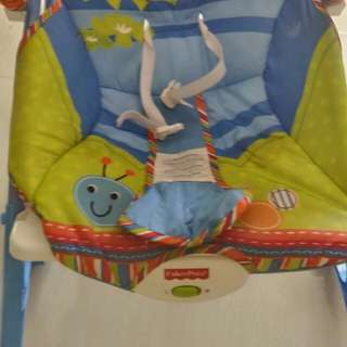 Fisher price 2 in 1 rocking chair