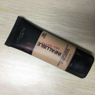 Loreal Infallible Pro-Matte Liquid Foundation